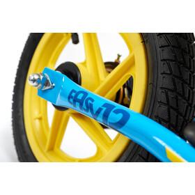 s'cool pedeX easy 12 Kinderen, blue/yellow